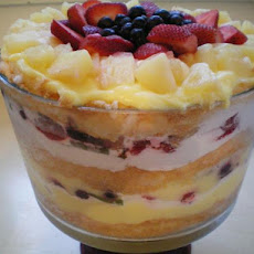 Fruity Angel Food Cake Trifle