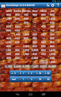 Screenshot of Score Keeper BACON
