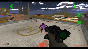 Screenshot of 3D Sniper - Zombie Smash