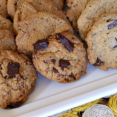 Peanut Butter- Chocolate Chunk Cookies