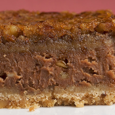 Chocolate Pecan Cheesecake Bars