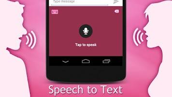 Screenshot of Fancy Pink Keyboard