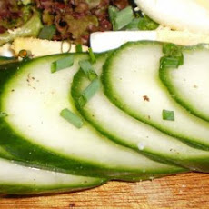 Hungarian Cucumber Salad