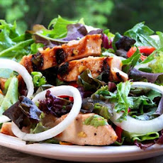 Ginger Marmalade Grilled Chicken Salad