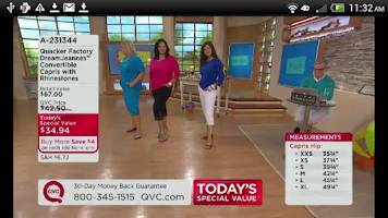 Screenshot of QVC (US)