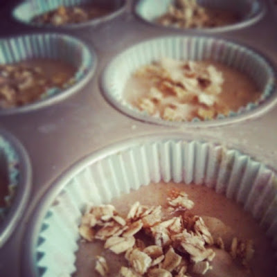 Pear and Crunchy Granola Muffins