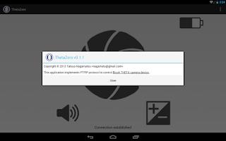 Screenshot of ThetaZero