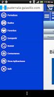 Screenshot of Guatemala Guia