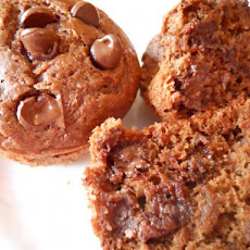 Low Fat Mocha Chocolate Chip Muffins