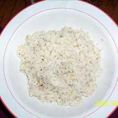 Creamy Lemon Parmesan Rice