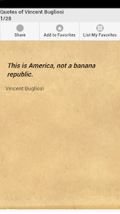 Quotes of Vincent Bugliosi - screenshot