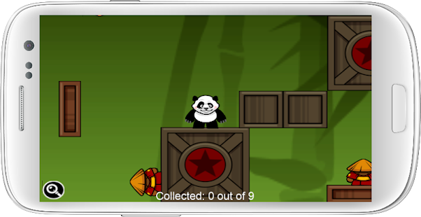 Fall Fu Panda - screenshot