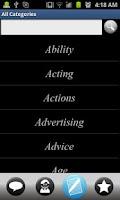 Screenshot of 25000 Best Quotes