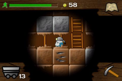 gem-miner-dig-deeper for android screenshot