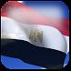 3D Egypt Flag