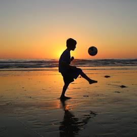 Soccer 'Till Sundown by Zoe Oksanen - Babies & Children Child Portraits