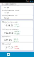 Screenshot of Stock Exchange lite