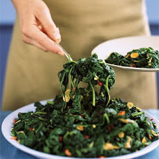 Hearty Garlic Greens