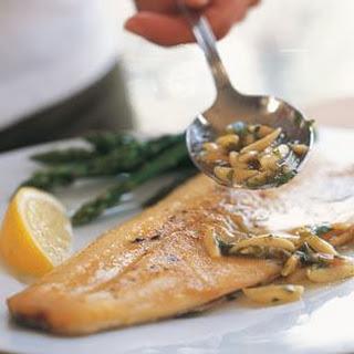 Lemon Fish Amandine Recipes