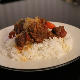 Moroccan Beef Tagine with Caramelized Onions