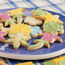 Frosted Butter Cutouts Recipe