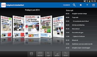 Screenshot of Helgeland Arbeiderblad