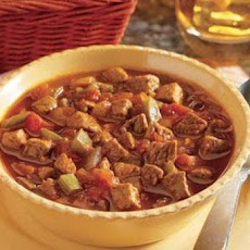 Cowboy Steak Chili in a Crock Pot