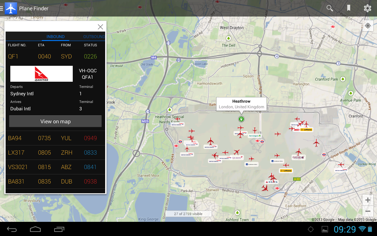 Plane Finder - Flight Tracker Screenshot 12