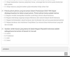 Screenshot of Soal Tes CPNS Beserta Jawaban