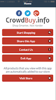 Screenshot of Crowdbuy Barcode Scanner