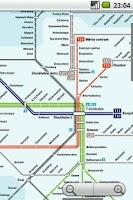 Screenshot of Stockholm Subway Maps Plus