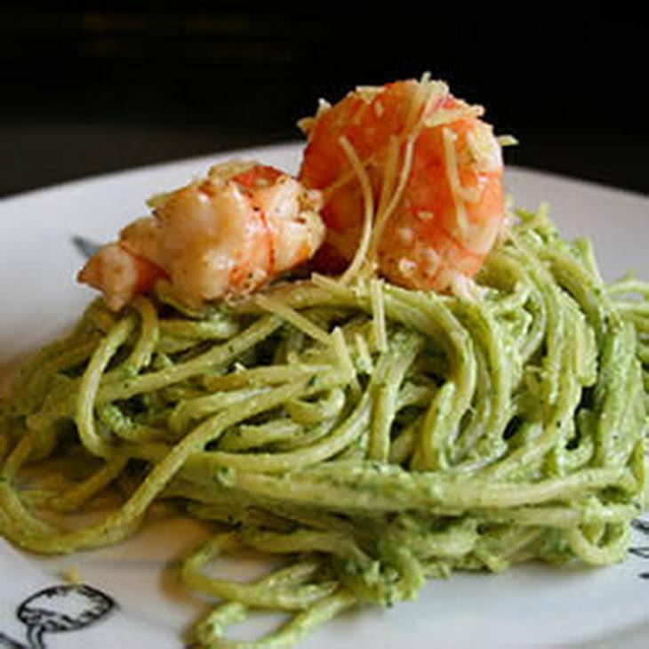 Creamy Pesto Shrimp