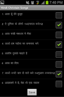 Screenshot of Hindi Christian Song Book