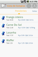 Screenshot of Fast Shop List