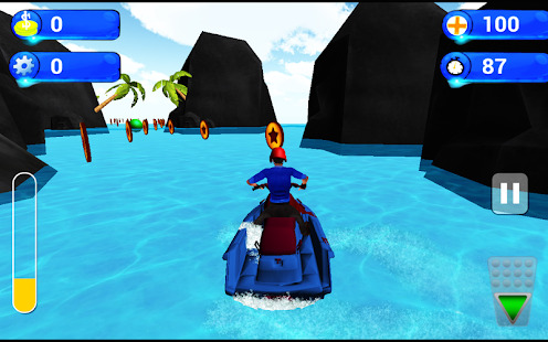 Water Boat Mission 3D - screenshot
