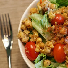 Leftover Juice Pulp Chickpea Salad