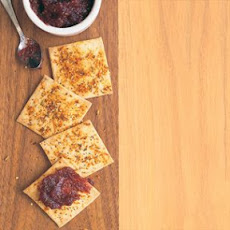 Seeded Amaranth Crackers with Sea Salt and Paprika