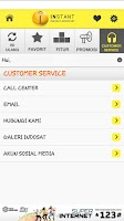 Screenshot of Indosat Assistant