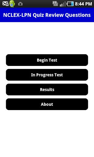 NCLEX-LPN Quiz