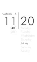 Screenshot of 몇시야?