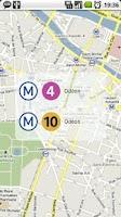 Screenshot of Paris Transports