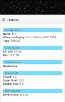 Screenshot of Messier Catalog - Astronomical