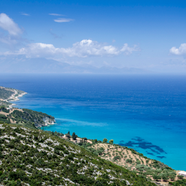 zakynthos, greece 2 by Bogdan T. Fotografie - Landscapes Travel ( water, sky, blue, greece, zakynthos, landscape )