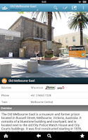 Screenshot of Melbourne Travel Guide Triposo