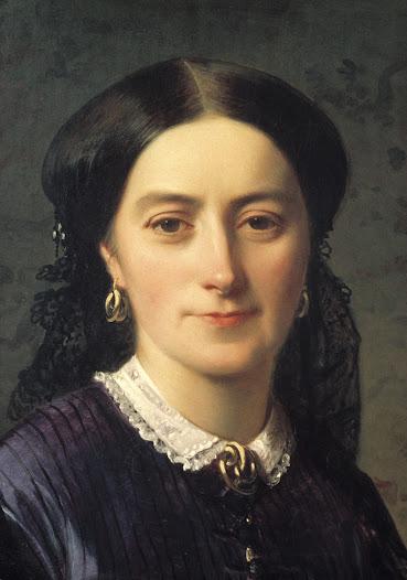Johanna finns avporträtterad med garnityret på en målning från år 1865. Målningen är gjord av konstnären Edourd Boutibonne i Interlaken under dottern Wilhelminas bröllopsresa.