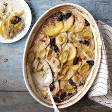 Leek, Potato, and Morel Gratin