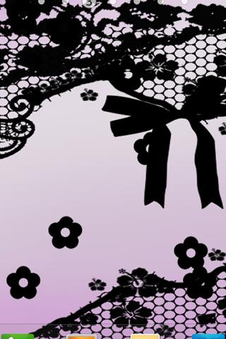 Pretty Lace Live Wallpaper