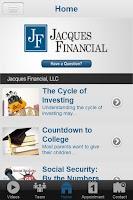 Screenshot of Jacques Financial