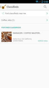 Find Coffee Shops Near Me App - screenshot