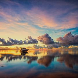 .:: morning reflection ::.. by Setyawan B. Prasodjo - Landscapes Cloud Formations